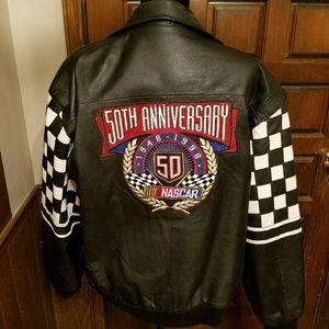 NASCAR 50TH ANNIVERSARY LEATHER JACKET